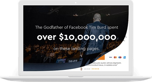 Tim Burds - $10 million Landing Page
