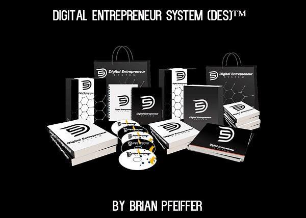 [Download] Brian Pfeiffer – Digital Entrepreneur System (DES)
