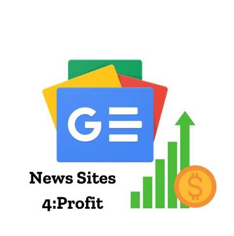 [Group Buy] Google News Sites 4 Profit