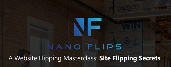 [Group Buy] NANO FLIPS – A Website Flipping Masterclass